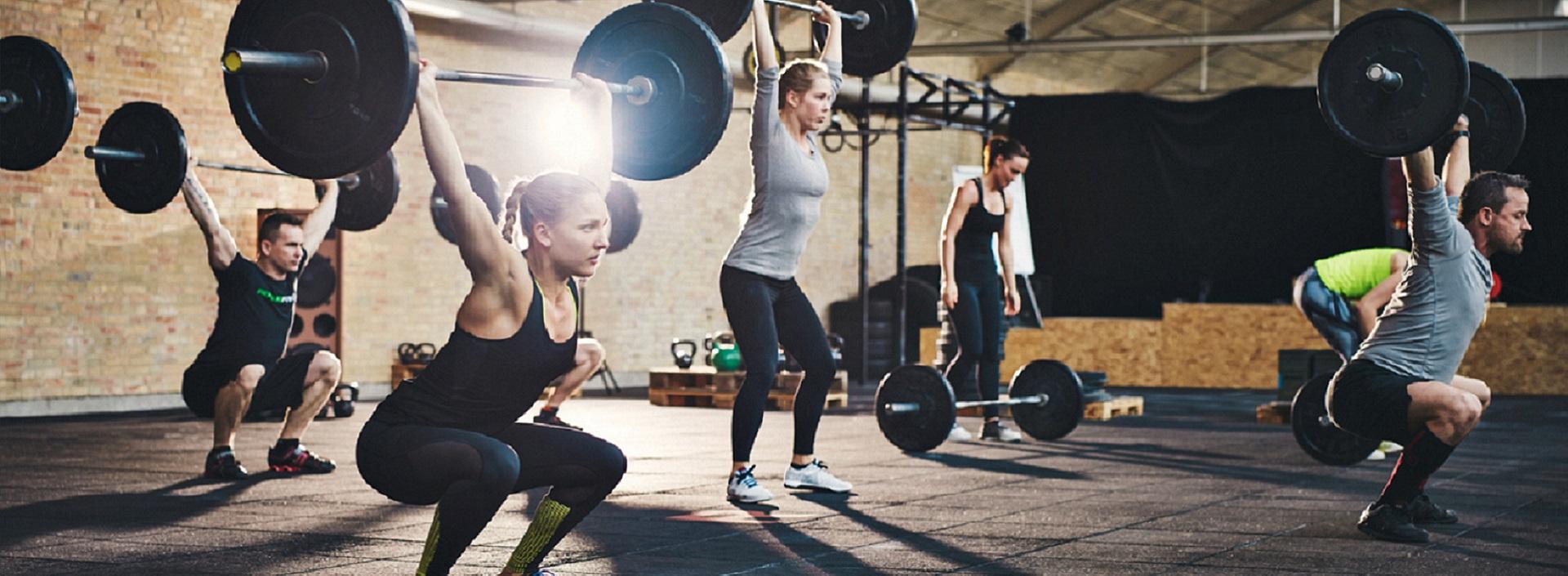 Sporter und Fitness