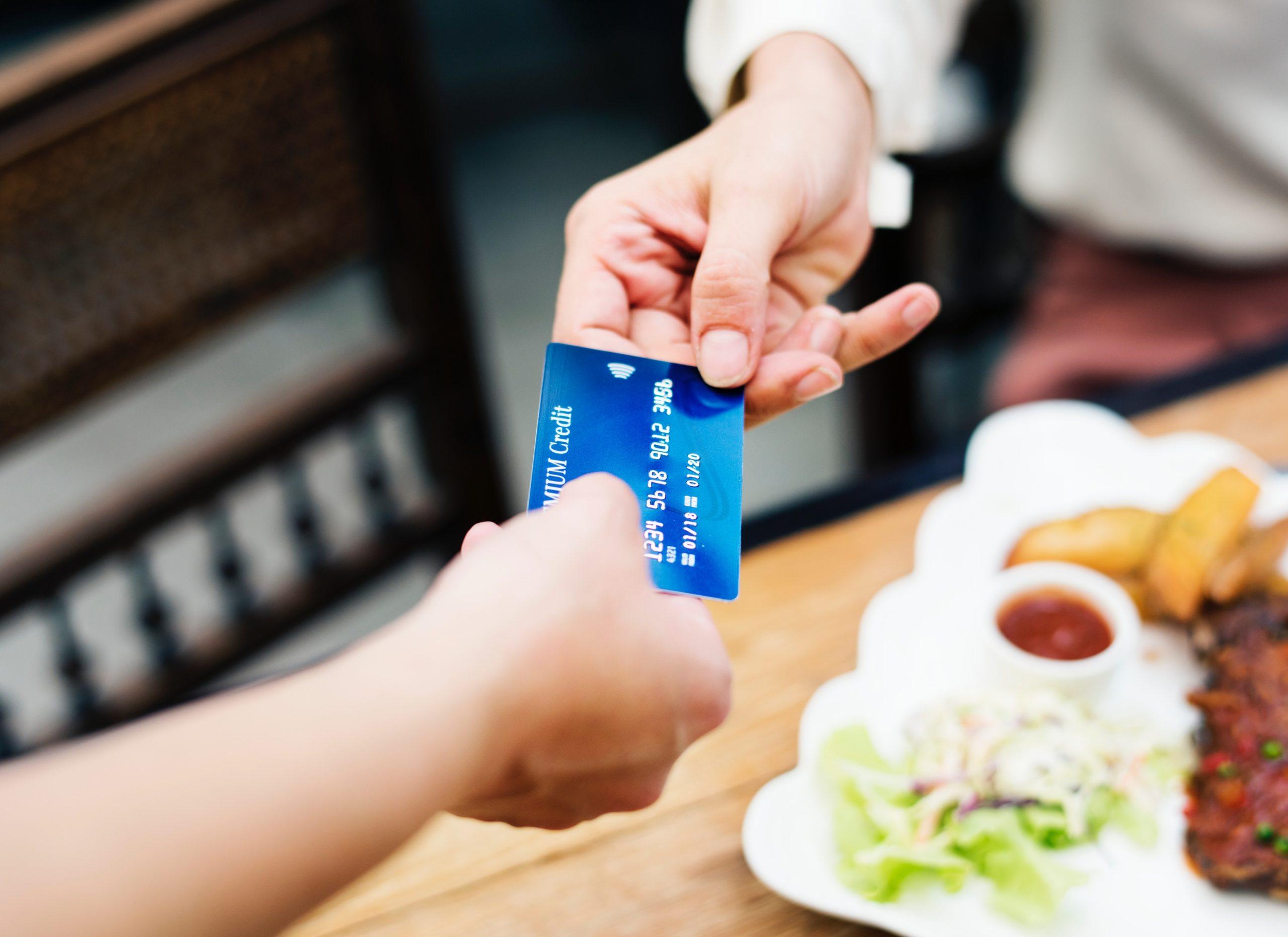 Digitale Kreditkarte